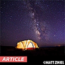 Camping Under Dark Skies: What to Bring