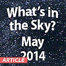 What's in the Sky - May 2014