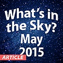What's in the Sky - May 2015