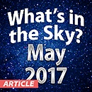 What's In The Sky — May 2017