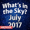 What's In The Sky — July 2017