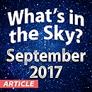 What's In The Sky — September 2017