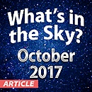 What's In The Sky — October 2017