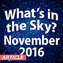 What's In The Sky - November 2016