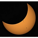 Partial Eclipse Phase, 20 Minutes After Third Contact
