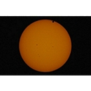 Second Contact of Venus Transit