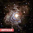 Hubble Images 'Light Echo' in Outer Space