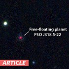 Planet Discovered Drifting Alone in Space