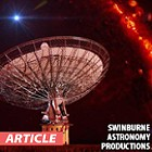 Mysterious Radio Bursts Coming from Outside Our Galaxy