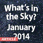What's In the Sky - January