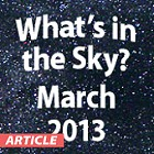 What's In the Sky - March