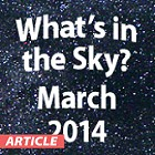 What's in the Sky - March at US Store