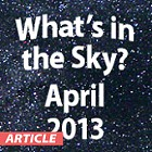 What's in the Sky - April