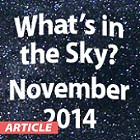 What's in the Sky - November 2014