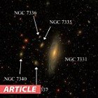 Galaxy Hunt: The Deer Lick Group and Stephan's Quintet at US Store