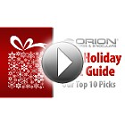 Orion 2016 Holiday Gift Guide