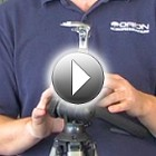 Features of the Orion Heavy Duty Binocular Tripod Adapter