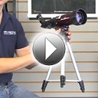 Overview of the GoScope II 70mm Refractor Travel Telescope