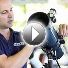 How To Attach Tube Rings Orion StarBlast 4.5 EQ Reflector at US Store