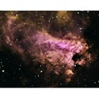 Close up of The Omega Nebula M17