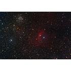NGC 7635 and M52