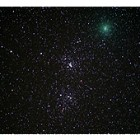 Comet 103P/Hartley and the Double Cluster in Perseus
