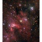 SH2-155 Region with the Cave Nebula