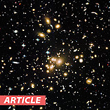How Gravitational Lensing Aids Hubble Space Telescope Data