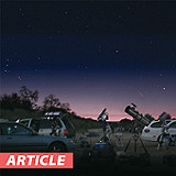 Weekend Star Party: The Ring, The Eagle, and an Eye Trick