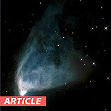 February Deep Sky Challenge: Hubble's Variable Nebula