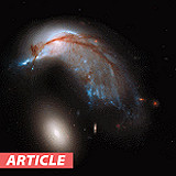 Hubble Finds Penguin Galaxy Just Chillin' at Orion Store