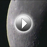 Deep Space Video Camera Sample Clips: Moon