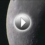 Deep Space Video Camera Sample Clips: Moon