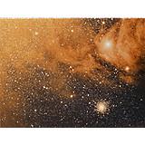 Nebulosity around M4 and Antares