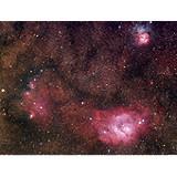 M8 (Lagoon), M20 (Trifid) and NGC 6559 - Sagittarius triplet