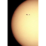 Sun Spots 1057 and 1059
