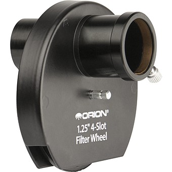 Orion 4-Filter Wheel for 1.25