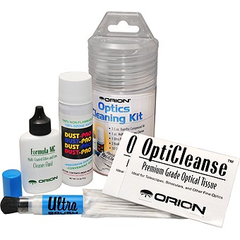 Orion Deluxe 6-Piece Optics Cleaning Kit