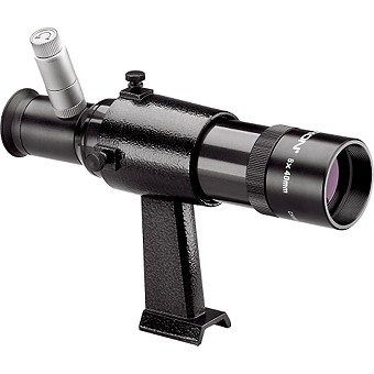 8x40 Orion Illuminated Finder Scope with Bracket