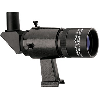 Black 9x50 Right-Angle Correct-Image Finder