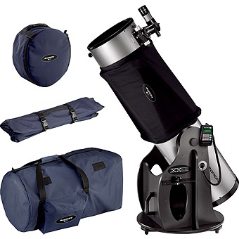 Orion SkyQuest XX12i Dobsonian Telescope, Shroud & Case Set
