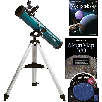 Orion SpaceProbe 3 AZ Reflector Telescope & Starter Kit