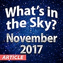 What's In The Sky — November 2017