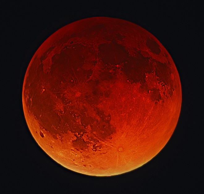 Lunar Eclipse by Doug Hubbell